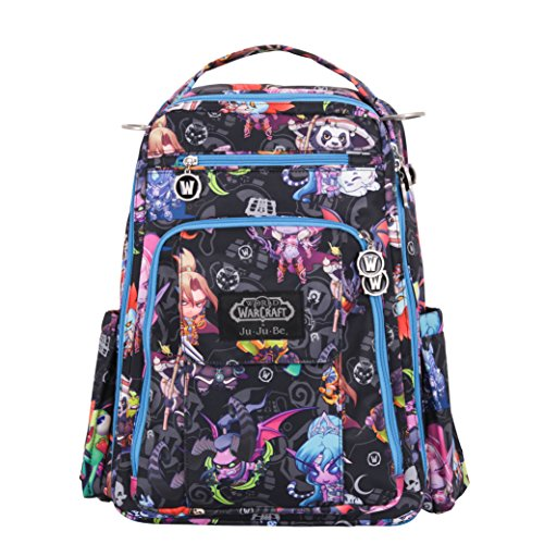 Ju-Ju-Be Be Right Back Multi-Functional Structured Backpack/Diaper Bag, World of Warcraft Collection - Cute But Deadly