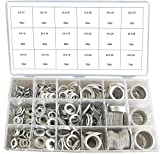 Automotive : Swordfish 32411 Automotive Aluminum Washer Assortment, 450 Piece