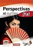 Perspectivas ¡Ya! - Aktuelle Ausgabe: A1 - Kurs- und Übungsbuch mit Vokabeltaschenbuch und Lösungsheft: Mit drei CDs sowie einer DVD