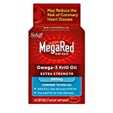 MegaRed 500mg Extra Strength Omega-3 Krill Oil, 60 softgels