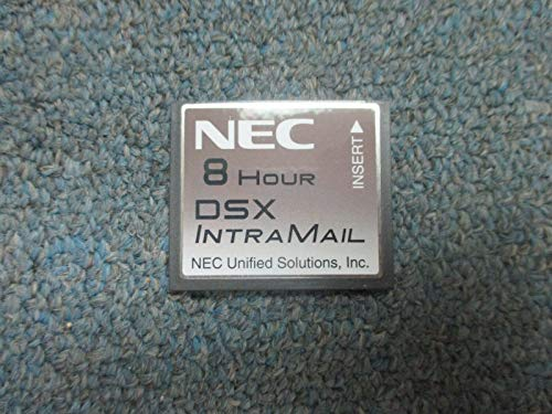 NEC DSX 40 80 160 1091011 V1.3 Intramail 4 Port 8 Hour Flash Voice Mail System