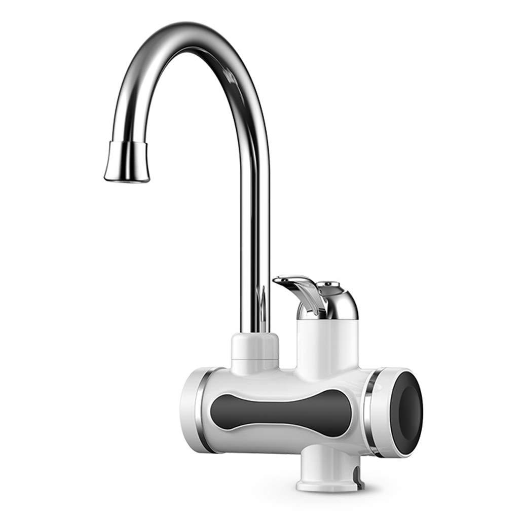 Waschraumarmaturen Elektrische wasserhahn, 360 ° drehbaren wasserhahn bad heißer wasserhahn waschbecken wasserhahn küche heißer und kalter wasserhahn zu hause elektrische einhebel wasserhahn Waschtisc