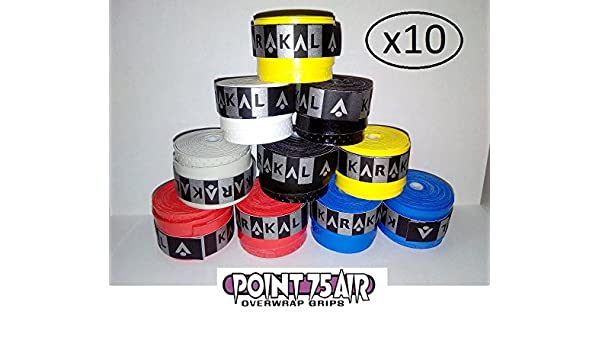 10 OVERGRIP KARAKAL AIR POINT 75 DISPONIBLES VARIOS COLORES ...