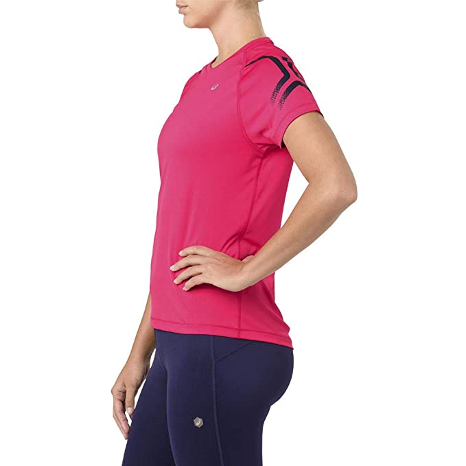 Icon Running Asics Shortsleeve Women Shirt Abbigliamento T Top Da 4qAF5wxpq