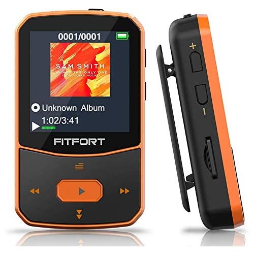 chollos oferta descuentos barato Reproductor MP3 Bluetooth 5 0 MP3 Bluetooth Running Sonido de Gama Alta Radio FM Grabación de Voz E Book Podómetro Pantalla de Color de 1 5 Pulgadas Soporte hasta 128GB Tarjeta