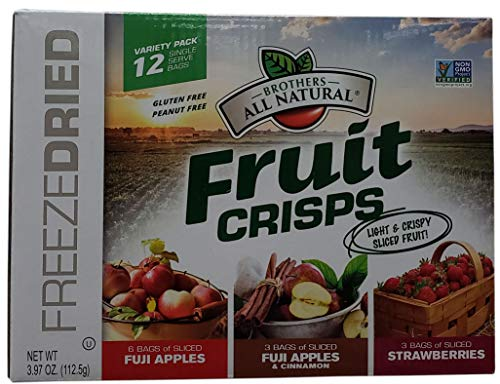 (Brothers Fruit Crisps Sliced Mixed, 3.97 Ounce)