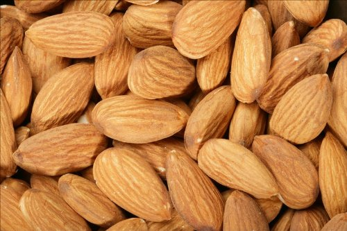 Roasted Unsalted Almonds 4 Lb Bag