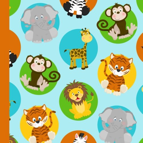 Zoo Animal Birthday Party Guest Book: Beautiful Zoo Animal Birthday Party Guest Book For a Memory Keepsake to Treasure Forever (Safari Zoo Party Supplies,Zoo Animal Party Decorations) (Volume 1)