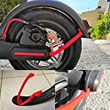 chuancheng Rear Fender Mudguard Bracket Support for Xiaomi M365/M365 Pro Scooter Accessory