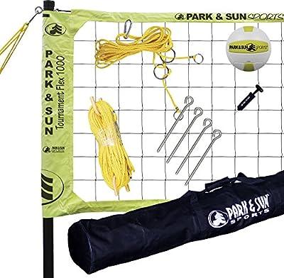 Park & Sun Sports Tournament Flex 1000: Portable Outdoor Volleyball Net System by Park & Sun Sports