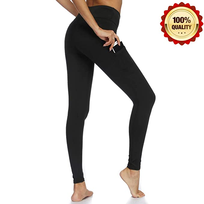 fd77d368aaea3 CHICBAKE Yoga Pants for Women high Waisted Leggings Workout Leggings with Pockets  Fabletics Tummy Control (