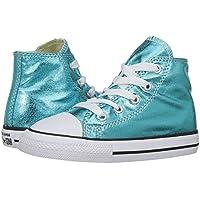 Converse Chuck Taylor Core HI Little Kids Shoes Optical White 3j253 (2 M US)