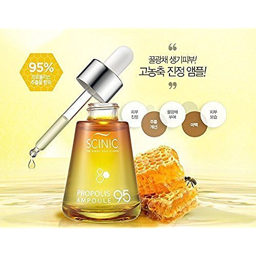 SCINIC PROPOLIS AMPOULE 95, 30ML by Scinic (Scinic Honey All In One Ampoule Ingredients)