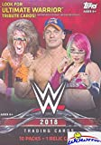 2018 Topps WWE Wrestling EXCLUSIVE Factory Sealed Retail Box with RELIC Card! Look for Cards & Autographs of WWE…