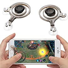 kilofly 2pc Smart Phone Mobile Game Joysticks Touch Screen Joypad Controller Set