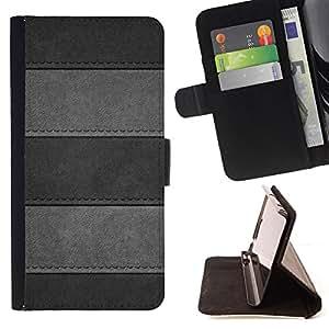Jordan Colourful Shop - Minimalist Stitched Leather Pattern For HTC DESIRE 816 - < Leather Case Absorci????n cubierta de la caja de alto impacto > -