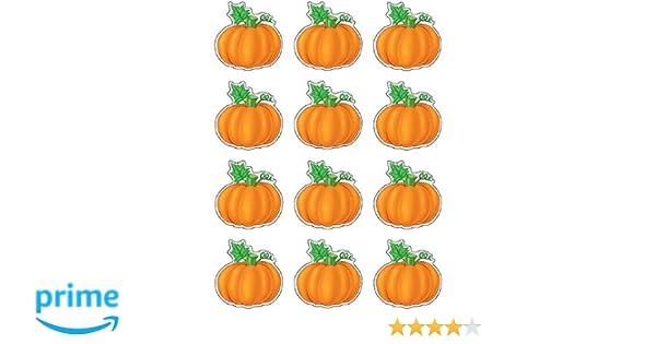 Amazon.com : Teacher Created Resources Mini Accents, Pumpkins (5129 ...
