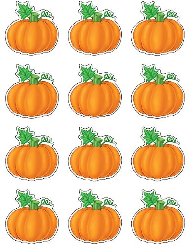 Teacher Created Resources Mini Accents, Pumpkins