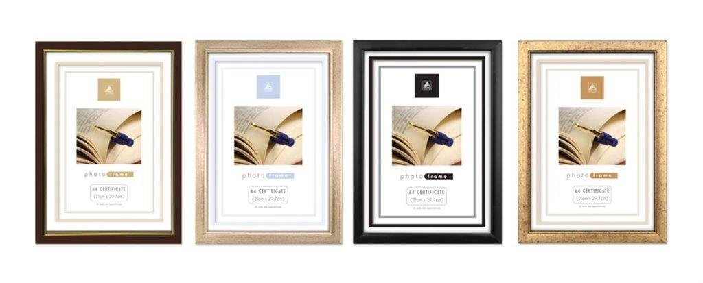 Amazon.com - A4 Certificate Photo Frame x 12 Wholesale -GOLD by ...