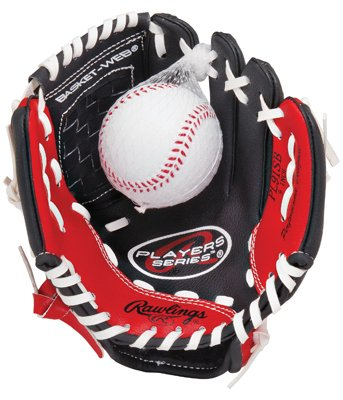 Image of Rawlings Players Series 9-inch Youth Baseball Glove, Right-Hand Throw (PL90MB)
