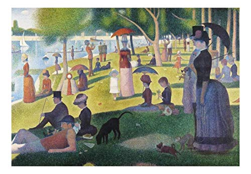 Sunday Afternoon on The Island of La Grande Jatte by Georges Seurat Wall Mural