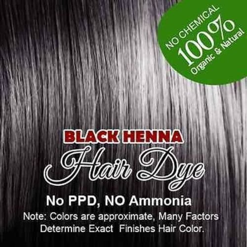 Black Henna Hair Color  100% Organic and Chemical Free 60gm