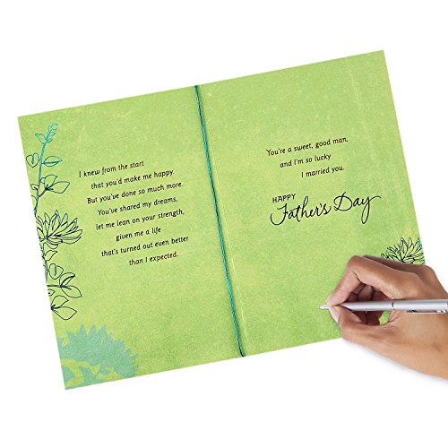 Hallmark Father's Day Greeting Card for Husband (Sweet and Good Man) Photo #5