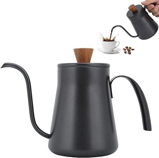 400ml Cafetera Clásica, Diseño Retro con Cuello de Cisne Hervidor Cafetera, Boquilla de 4mm para el Café Té Agua, Buena para el Regalo: Amazon.es: Hogar