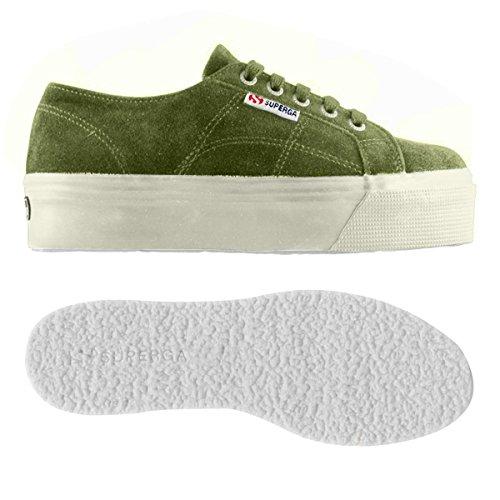 suew Donna Superga Green 2790 Tea Sneaker Yq065