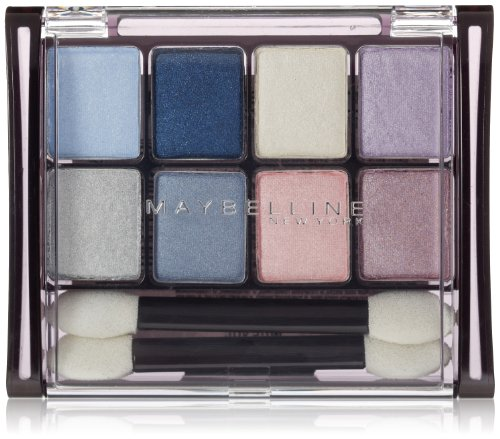 Maybelline New York Expert Wear Eyeshadow 8-Pan Twilight Rays 50, 0.22 Ounce