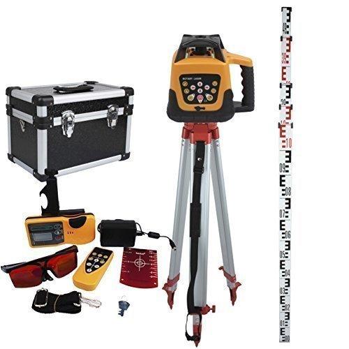 Ridgeyard Adjustable Automatic Self Leveling Rotary Laser Level Red Beam...
