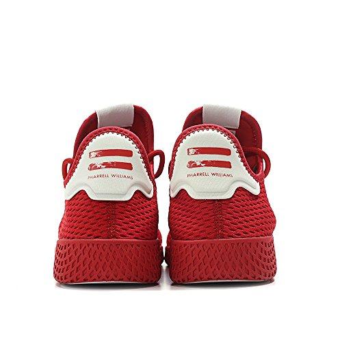 Scarpa Sportiva Adidas Uomo Pharrell Williams Tennis Hu (mens 9.5, Monocromatica Rossa 6434)