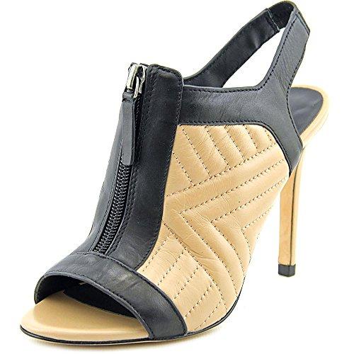 Charles David Women's Inverse Dress Sandal, Nude Black, 7 M US