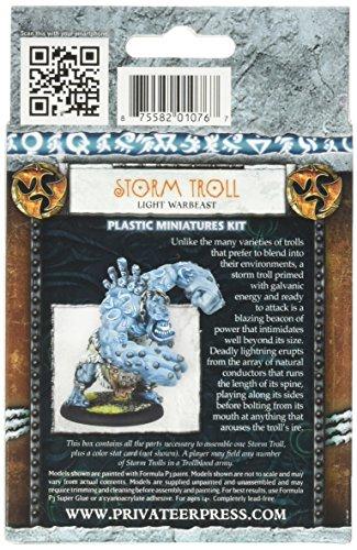 Privateer Press - Hordes - Trollblood: Storm Troll (Plastic) Model Kit 4