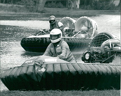 - Vintage photo of HOVERCRAFT racing