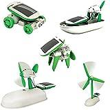 EMOB Diy 6 In 1 Hybrid Models Solar Robot Educational Kit For Kids