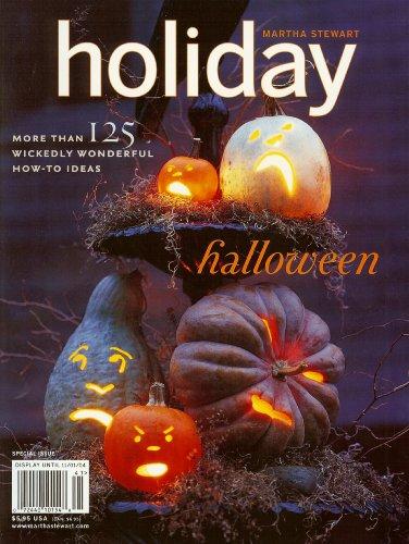 (Martha Stewart Holiday Magazine 2004, Halloween Special)