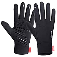 Lanyi Running Sports Gloves Compression Lightweight Windproof Anti-Slip Touchscreen Warm Liner Cycling Work Gloves Men Women