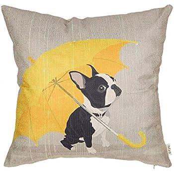 face boston mountain terrier throw sizes the pillow