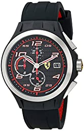 Ferrari Men\'s 0830015 Lap Time Analog Display Quartz Blue Watch