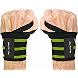 """Rip Toned Wrist Wraps 18"""" Professional Grade with Thumb..."""
