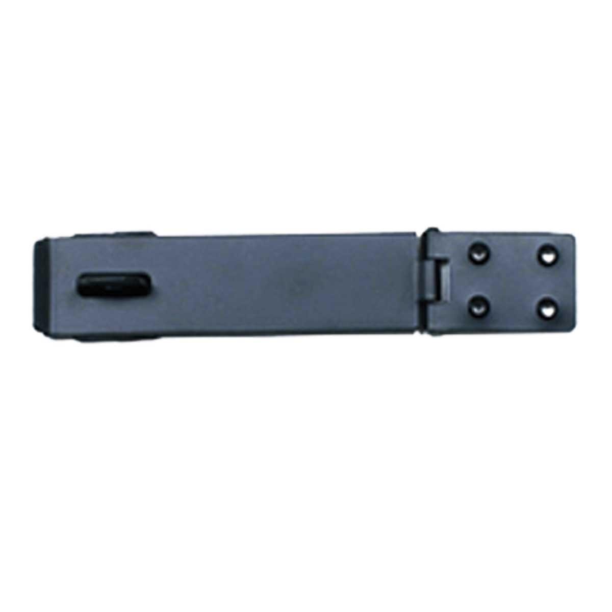 Hasp Black Cast Iron Door Gate Hasp 8 1/4'' Inch L 1 5/8'' W