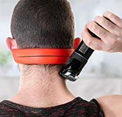 Always get a crisp, clean shaving line on the back of your neck without any help thanks to the versatile Nekmate Neckline Shaving Template.  Going to the barber every time you need your neck line cleaned up can be both expensive and time cons...