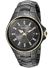 Coutura Men's Solar Diamond Dial Watch