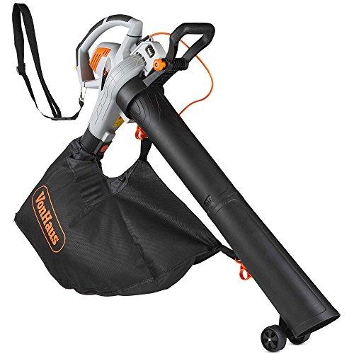 VonHaus 3 in 1 Leaf Blower - 3000W Garden Vacuum & Mulcher - Large 45 Litre...