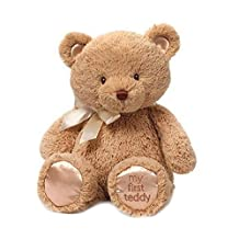 Gund Baby My 1st Teddy Plush Toy, Tan, 15-Inch