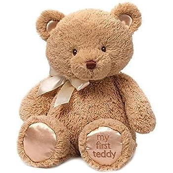 Amazon.com: Aurora Plush Baby 10 inches Comfy Blue Baby Boy Bear: Toys & Games