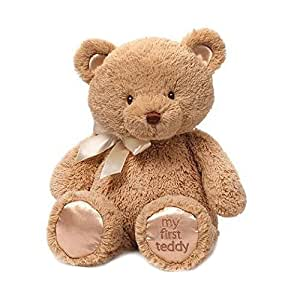 Gund My First Teddy Bear Baby Stuffed Animal, 15 inches