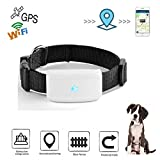 Gps Dog Tracker,Mini GPS Tracker,Hangang Pet Gps Tracker, Gps Pet Tracker Anti-lost GPS Locating Pet Tracker Collar Activity Monitor Tracking in Real Time Free App Smart Cat Tracker Collar For Dog Cat Gps Location Tracker Support Android Ios TK911