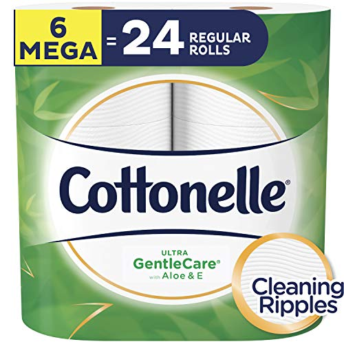 Cottonelle Ultra GentleCare Sensitive Toilet Paper with Aloe & Vitamin